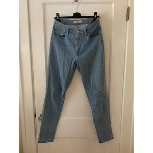 Levi's 721 Light Wash Jeans